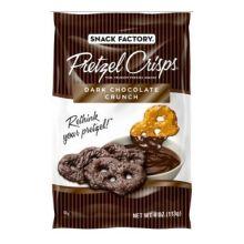 Dark Chocolate Crunch Pretzel Crisps