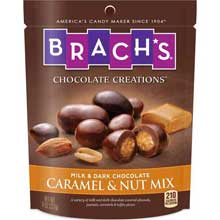 Caramel and Nut Mix Candy