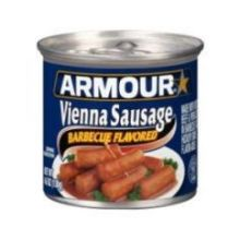 Barbecue Flavored Vienna Sausage 4.6 Ounce