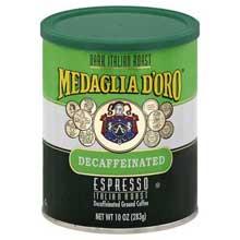 Italian Roast Decaffeinated Espresso Coffee