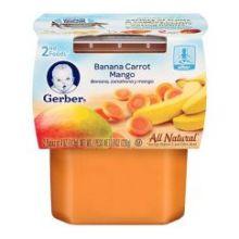 2 nd Food Banana Carrot Mango Baby Food