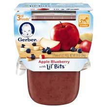 3rd Foods Apple Blueberry Baby Food
