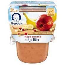 3rd Foods Apple Banana Baby Food