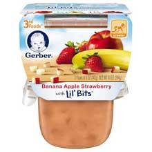 3rd Foods Banana Apple Strawberry Baby Food
