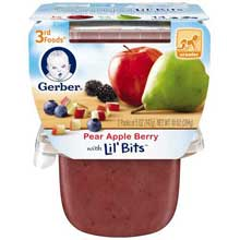 3rd Foods Pear Apple Berry Baby Food
