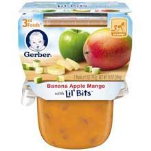 3rd Foods Banana Apple Mango Baby Food