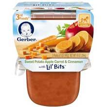 3rd Foods Potato Apple Carrot Cinnamon Baby Food