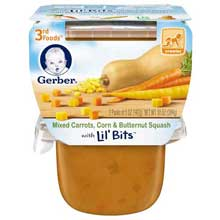 3rd Foods Carrot Corn and Butternut Squash Baby Food