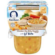 3rd Foods Chicken Itty Bitty Noodle Baby Food