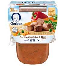 3rd Foods Garden Vegetable and Beef Baby Food