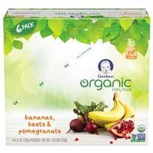 3rd Foods Organic Ban Beet Pomegranate Baby Food