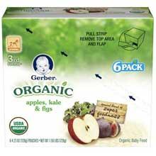 3rd Foods Organic Apple Kale Fig Baby Food