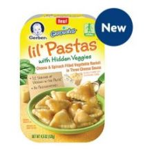 Graduates Lil Pastas Cheese and Spinach Filled Vegetable Ravioli Baby Food