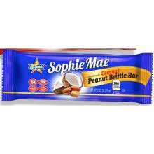 Peanut Coconut Brittle Bar