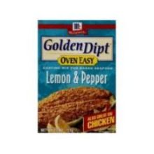 Golden Dipt Lemon and Pepper Oven Easy Coating Mix