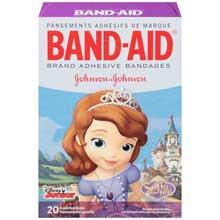 Johnson and Johnson Band-Aid Brand Adhesive Bandages 20 ct Box