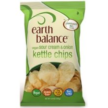 Vegan Sour Cream and Onion Flavor Kettle Chips