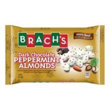 Dark Chocolate Peppermint Almonds