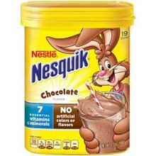 Nesquik Not Ready to Drink Chocolate Powder Beverage