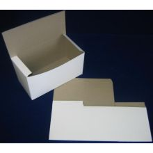 Lock Corner One Piece White Bakery Box 14 x 14 x 6 inch