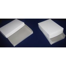 Two Piece Lock Corner Full Sheet White Bakery Box