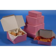Lock Corner One Piece Strawberry Bakery Box 14 x 14 x 6 inch