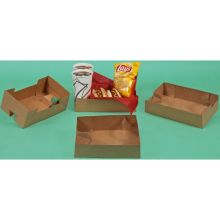 Kraft Cup Carrier 7 inch