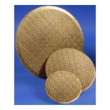 Gold Scalloped Cake Circle 9 inch