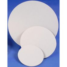 White with Grease Resistant Coating Cake Circle 9 inch