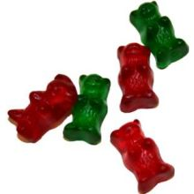 Red and Green Gummy Bears