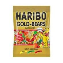 Gold Bears Gummy Candy 3 Pound