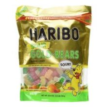 Gold Bears Sour Gummy Candy