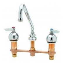 Medical and Lavatory Faucet with 9 inch Swing Nozzle