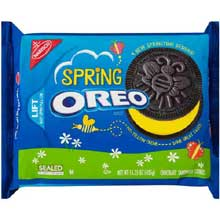 Chocolate Spring Oreo Sandwich Cookies