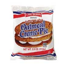 Vending Double Decker Oatmeal Creme Pie