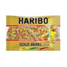 Gold Bears Minis Gummy Candy