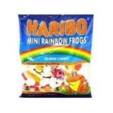 Mini Rainbow Frogs Gummy Candy