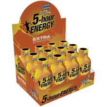 Peach Mango Extra Strength Energy Shots