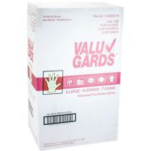 Embossed Poly Extra Large Clear Disposable Gloves