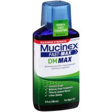 Fast Max DM Max Maximum Strength Cough and Chest Congestion Liquid