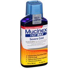 Fast Max Maximum Strength Multi Symptom Severe Cold Relief Liquid