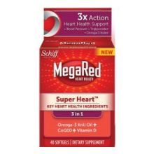 Super Heart Omega 3 Krill Oil