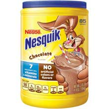Nesquik Not Ready to Drink Chocolate Powder Beverages