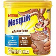 Nesquik Chocolate Powder Beverage