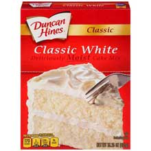 Classic White Layer Cake Mix