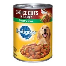 Choice Cuts In Gravy with Country Stew Wet Dog Food