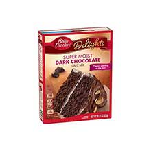SuperMoist Dark Chocolate Cake Mix