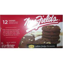 White Fudge Brownie Cookie