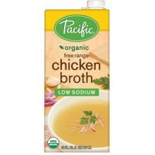 Organic Free Range Low Sodium Chicken Broth
