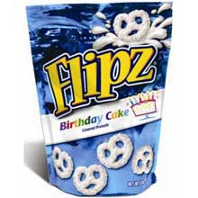 Birthday Cake Coated Pretzels